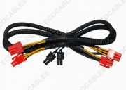 6 Pin Power Extension Cables1