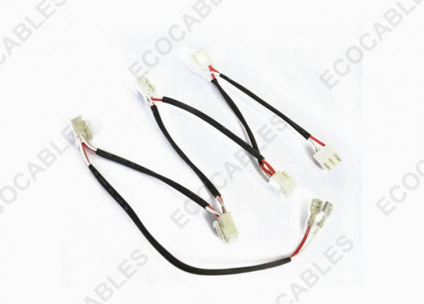 automotive led wire harness electrical cable harness assembly jst connector