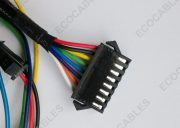 Braided Computer Internal JST Wire Harness1