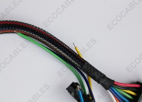 Braided Computer Internal JST Wire Harness3