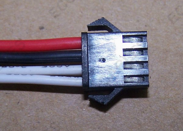 Braided Computer Internal JST Wire Harness4