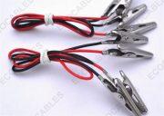 Wire Harness Assy With Alligator Clip 1.35mm Medium UL1007 221