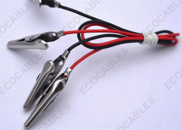 Wire Harness Assy With Alligator Clip 1.35mm Medium UL1007 223