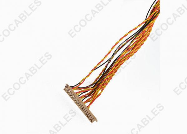 Industrial 1.0mm LVDS Cable 4