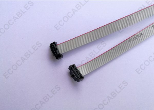 36cm Long 10 Wire Flat Ribbon Cable 1mm Pitch With Molex 87568-1074 Connector2
